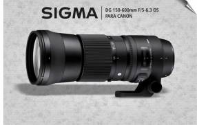 Lente Sigma DG 150-600mm F/5-6.3 OS HSM Contemporary para Canon
