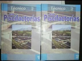 Libro Técnico en Piscifactoría 2 volúmenes