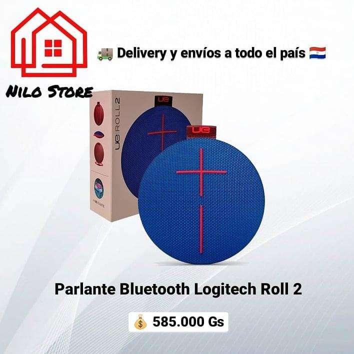 Parlante Logitech roll 2 bluetooth - 0
