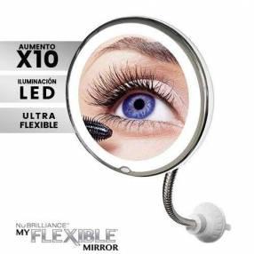 Espejo flexible iluminado con led