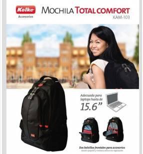 Mochila Kolke Total Comfort Negra
