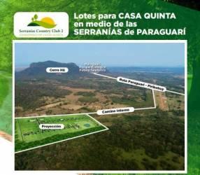 Terrenos en Serranías Country II en Paraguarí