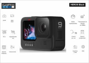 Cámara de acción GoPro Hero 9 Black 5K