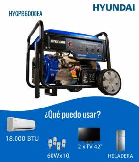 Generador naftero Hyundai 6 KVA