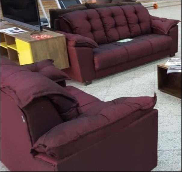 Sofa quebec 3 y 2 lugares abba - 5