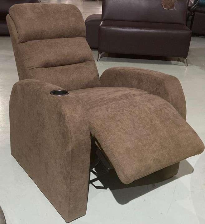 Sofa poltrona ecoleather new marron (2377) - 0