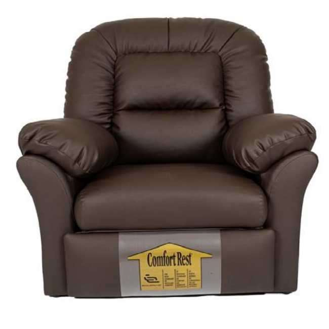 Sofa reclinable poltrona ecoleather marron (745) - 0