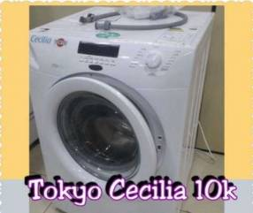 Lavarropa Tokyo 10 Kg