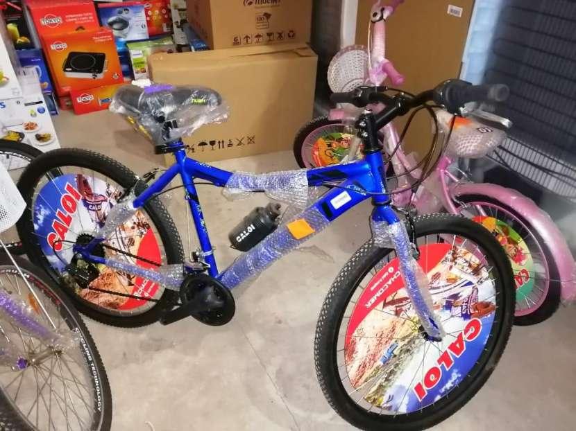 Bicicleta Caloi New Rider aro 24 - 0