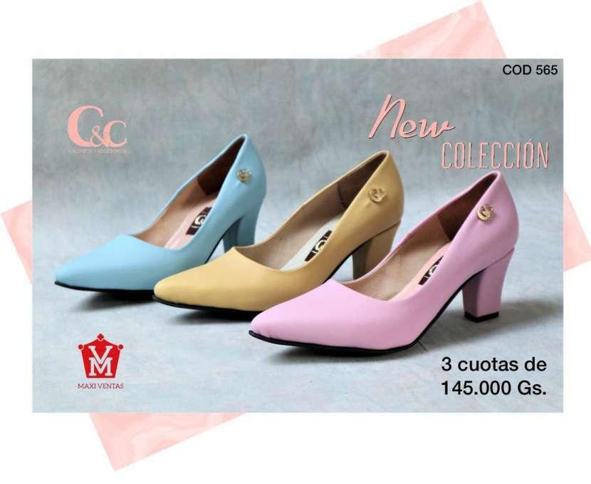 Zapatos con tacos calce 35 al 40 - 0