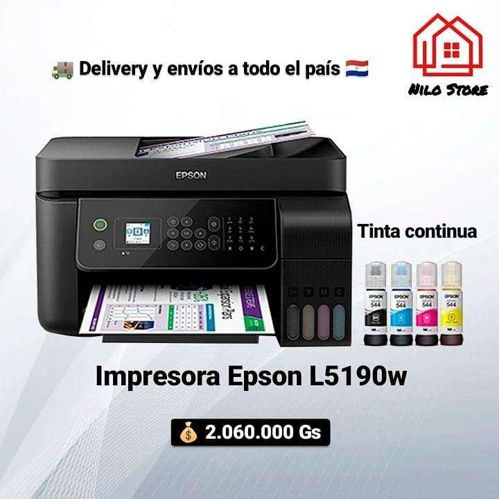Impresora Epson L5190w tinta continua - 0