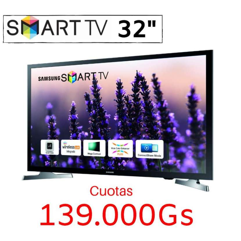"Samsung Smart TV de 32"" - 0"