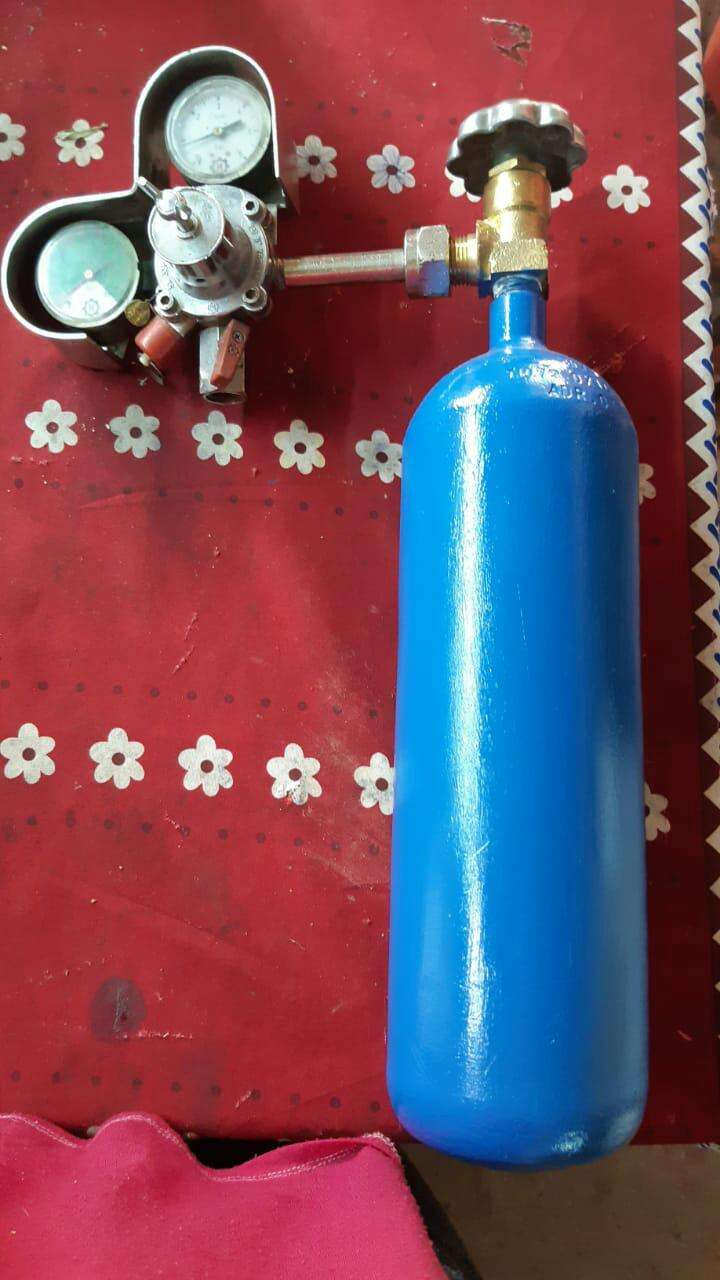 Balón de oxígeno de medio metro cubico (para técnico) - 0