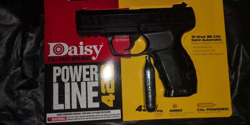 Pistola de gas glock co2 - 0