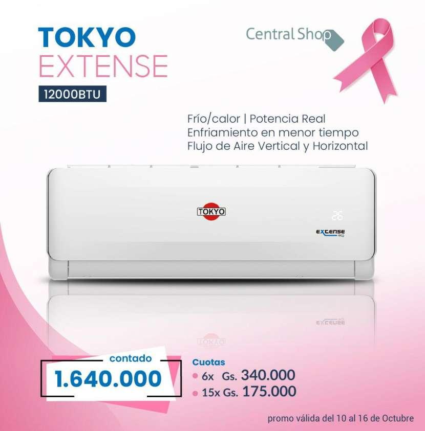 Aire acondicionado Tokyo Extense de 12.000 btu - 0