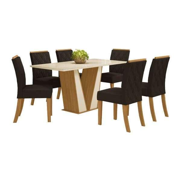 Conjunto Garda 6 sillas Vita Henn Nature - 1