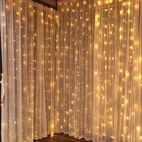 Cortina de luces LED - 1