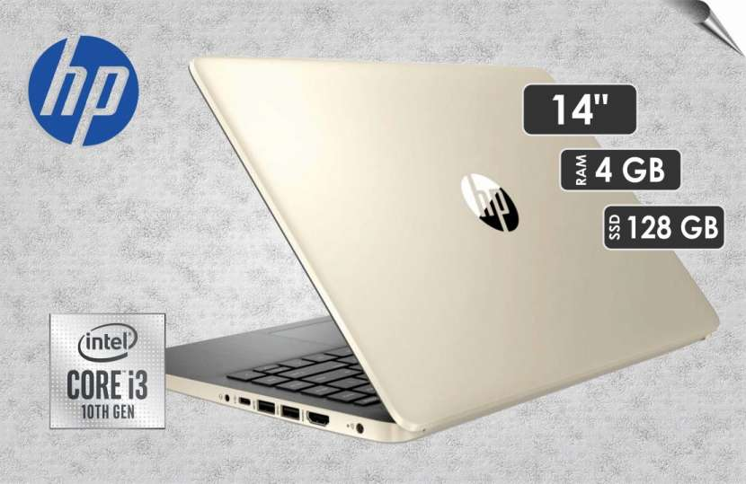 "Notebook HP i3 Gold 14"" - 0"