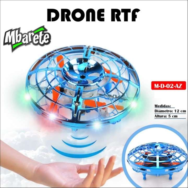 Drone RTF Mbarete OVNI con luces - 0