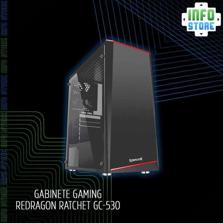 Gabinete Gaming Redragon Ratchet GC-530 - 0