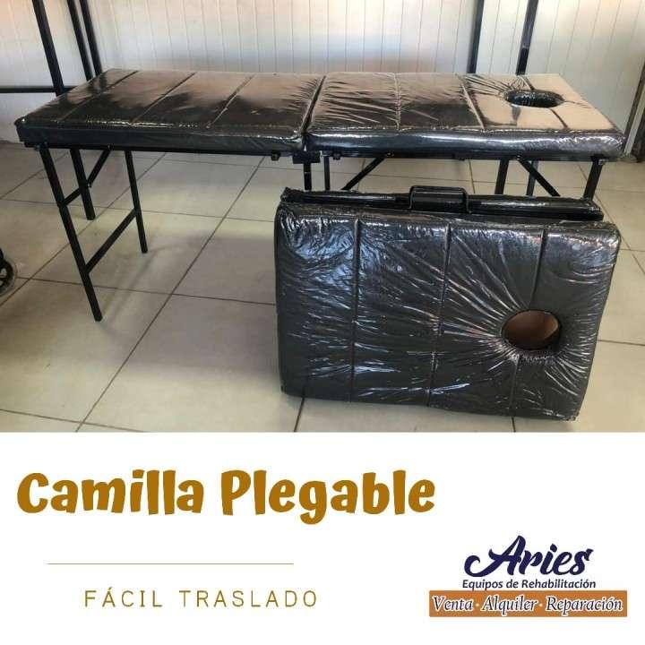 Camilla plegable como maletín para masajistas a domicilio - 0