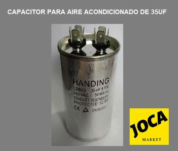 Capacitor para Aire Acondicionado de 35uf - 0