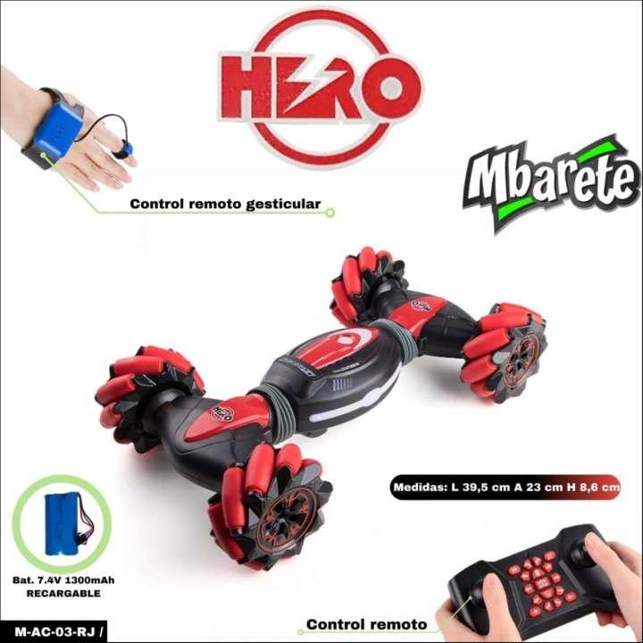 Auto Hero Mbarete con control remoto gesticular - 1