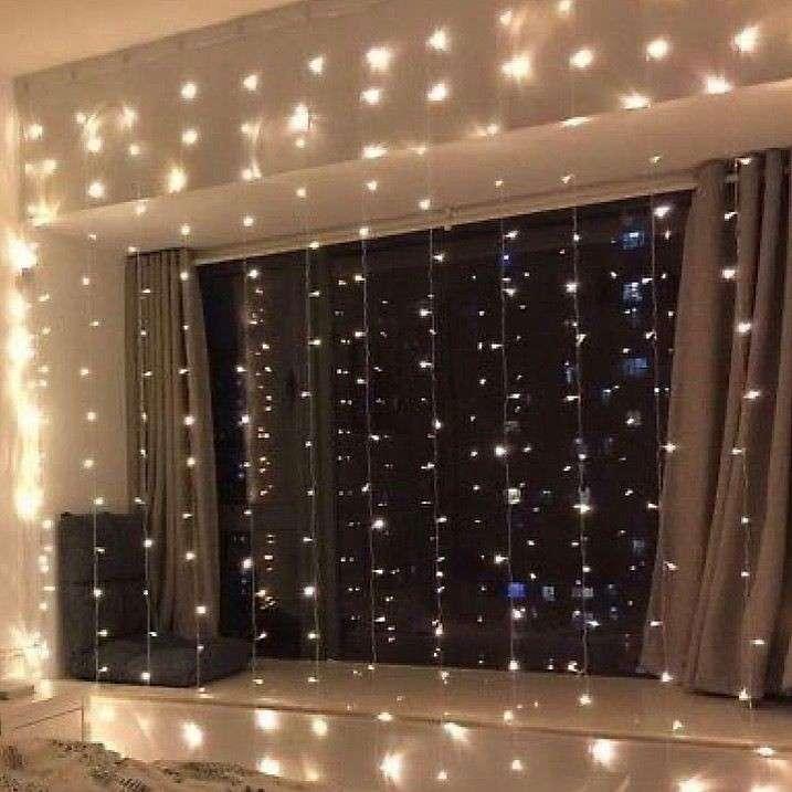 Cortina de luces LED - 0