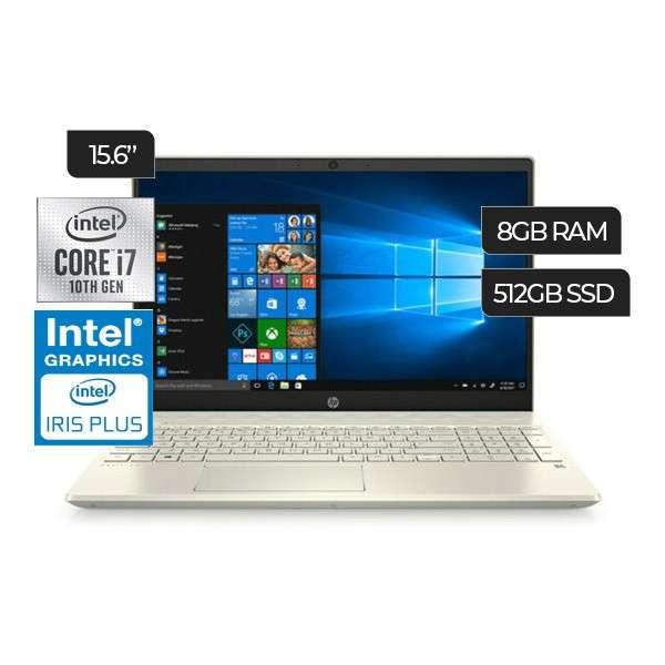 Notebook HP Pavilion 15-CS3075WM i7-1065G7 1.3Ghz/8gb/512gb - 1