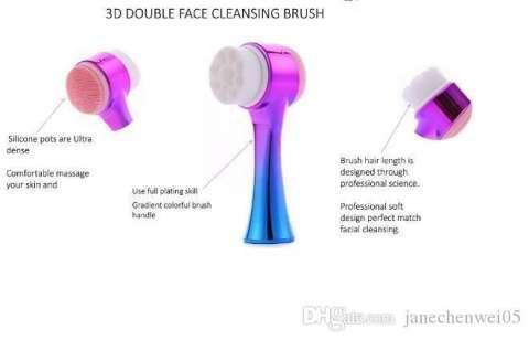 limpiador facial 2 en 1 - 1