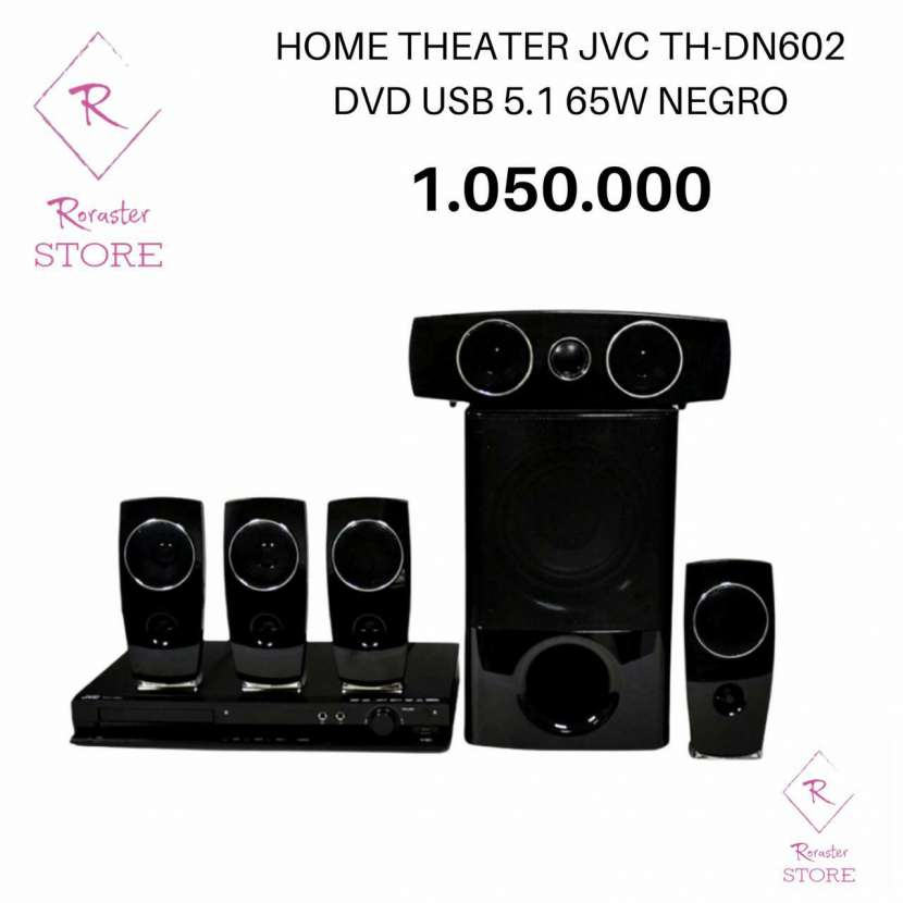 Home Theater JVC 5.1 - 0