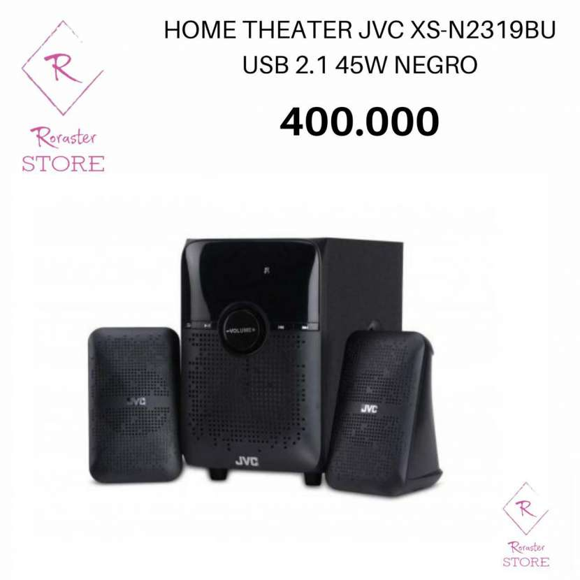 Home Theater JVC 2.1 - 0