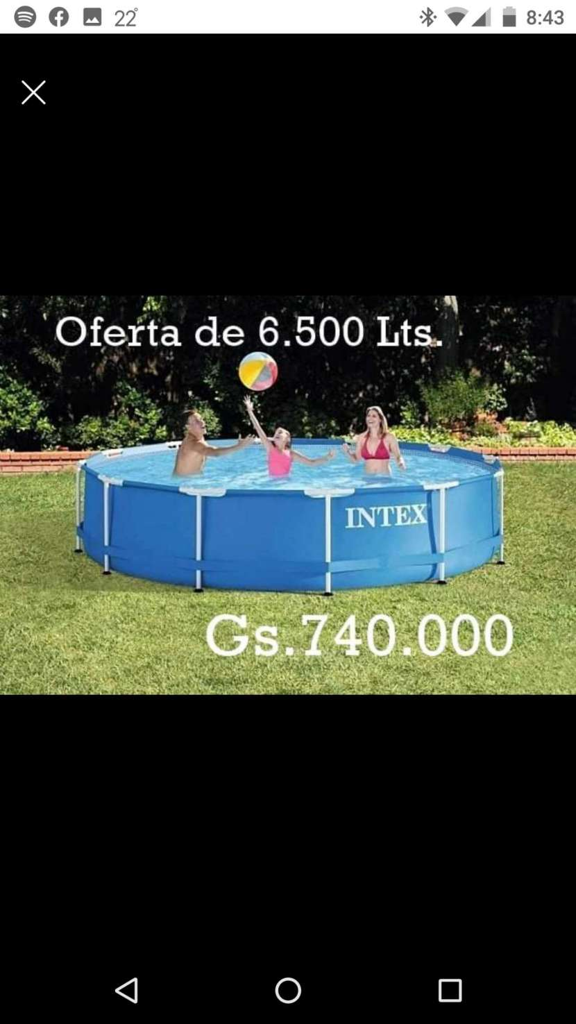 Piscinas Intex de 6.500 litros - 0