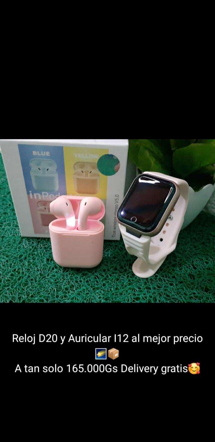 Smartwatch y auricular a bluetooth - 1