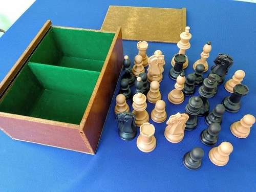 Piezas de ajedrez Dubrovnik de plástico - 1