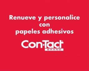 Papel adhesivo contact