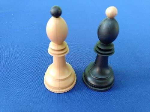 Piezas de ajedrez Dubrovnik de plástico - 6