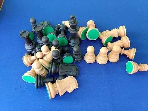 Piezas de ajedrez Dubrovnik de plástico - 3