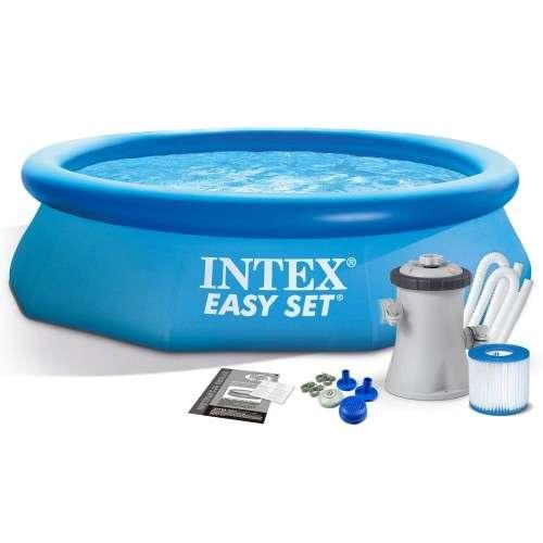 Piscina Intex 3.853 litros con filtro - 0