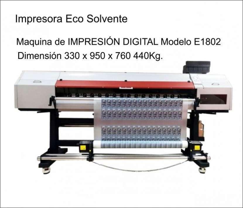 Máquina de impresión digital - 1