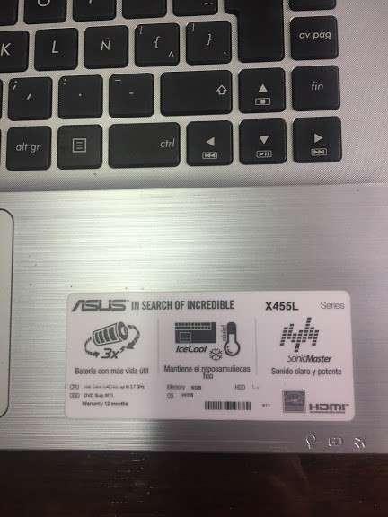 "Notebook Asus 14"" Core I5 1Tb HHD 6 RAM ampliada a 12 RAM - 3"