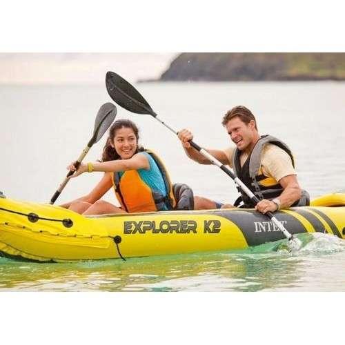 Kayak para 2 personas con remos Intex - 1