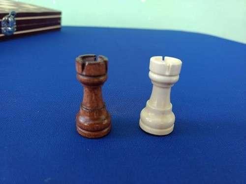 Juego magnético de ajedrez y damas y Backgammon - 8
