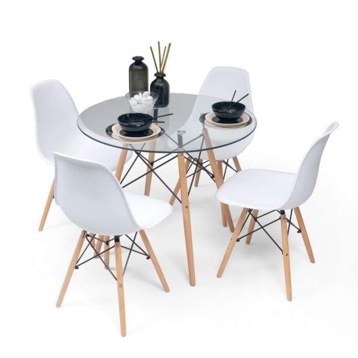 Go comedor tower 4 sillas mesa redonda - 3