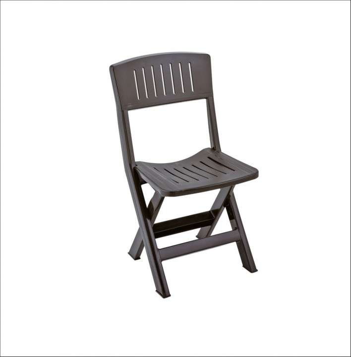 Silla plegable folding chair plastico - 0