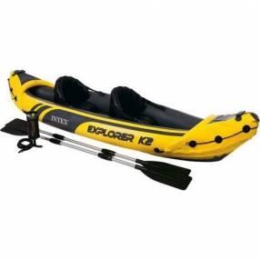 Kayak para 2 personas con remos Intex