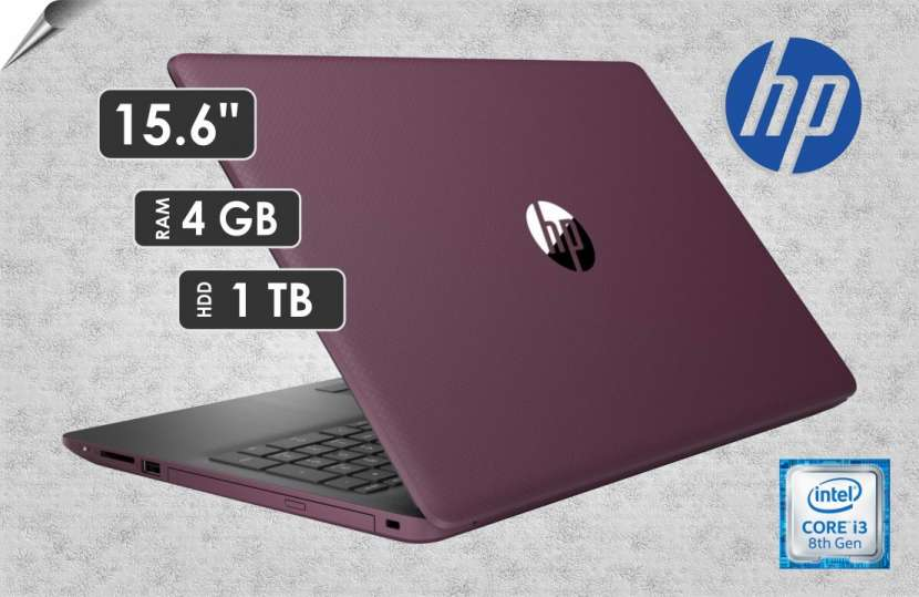 Notebook HP Intel Core i3 Violet - 0