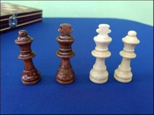 Juego magnético de ajedrez y damas y Backgammon - 5