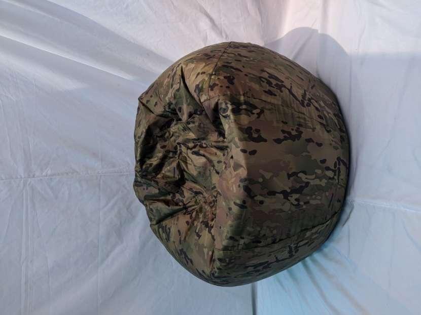 Puf Militar Camuflado Impermeable - 3