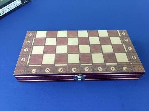 Juego magnético de ajedrez y damas y Backgammon - 2